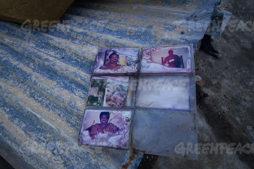 Anna's family photos partially destroyed from Cyclone pam