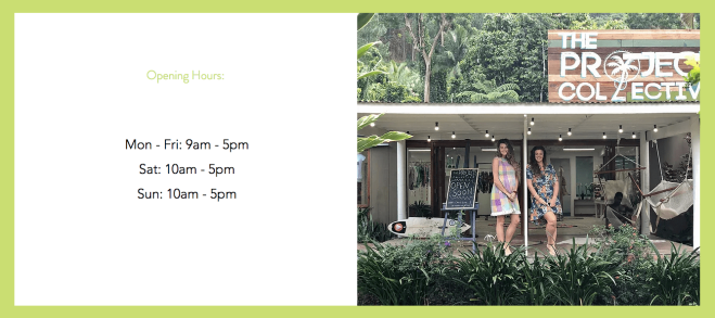 The Projects Collective Fiji Opening Hours